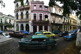 Cars Parked in the Barrio Colon