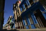 Sunlit Buildings in Old Havana