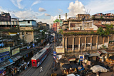 Kolkata's Thoroughfare  Chitpur Road  Winds Through the City Center