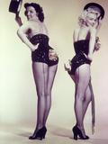 "Marilyn Monroe  Jane Russell ""Gentlemen Prefer Blondes"" 1953  Directed by Howard Hawks"