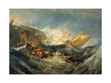 The Wreck of a Transport Ship  1805