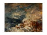 Fire At Sea  Ca 1835