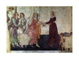 Venus And the Graces Offering Gifts To a Young Girl  1486  Italian Renaissance