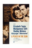 """The Lovers  1951  """"A Place In the Sun"""" Directed by George Stevens"""