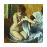 Woman In a Tub  Ca 1883