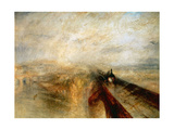 "Rain  Steam And Speed ""The Great Western Railway"" 1844"