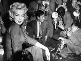Marilyn Monroe  1954 Marilyn Monroe In Japan for His Honeymoon With Joe Dimaggio  1954