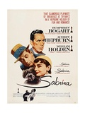 Sabrina  Audrey Hepburn  Directed by Billy Wilder  1954
