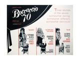 """""""Boccaccio '70""""  Mario Monicelli  Vittorio De Sica  Luchino Visconti  Directed by Federico Fellini"""
