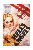 "Howad Hughes' ""Hell's Angels"" wih Jean Harlow"