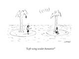 """Left-wing secular humanist!"" - Cartoon"