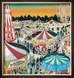 The Fair (Gouache on Paper)