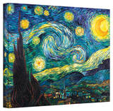 Vincent van Gogh 'Starry Night' Wrapped Canvas