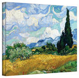 Vincent van Gogh 'Wheatfield with Cypresses' Wrapped Canvas