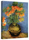 Vincent van Gogh 'Fritillaries' Wrapped Canvas Art