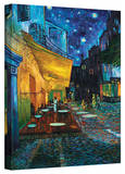 Vincent van Gogh 'Cafe Terrace at Night' Wrapped Canvas