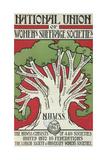 Women's Suffrage Societies Giclée