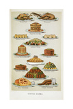 Supper Dishes. Meat and Fish Dishes Giclée par Isabella Beeton