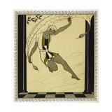 Designs On the Dances Of Vaslav Nijinsky Giclée par Georges Barbier