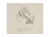 Lobster Mending Clothes  Nonsense Botany Animals and Other Poems Written and Drawn by Edward Lear