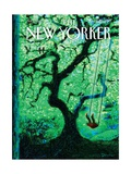 The Eternal Summer - The New Yorker Cover  August 26  2013
