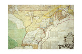 British Colonies in North America Giclée