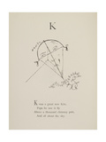 Kite Illustrations and Verses From Nonsense Alphabets Drawn and Written by Edward Lear