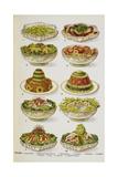 Assorted Salad Dishes Giclée par Isabella Beeton