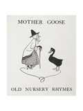 Mother Goose Old Lady With Goose