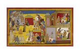 Rama Repudiates Sita