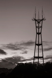 Sutro Tower in Black and White