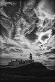 Light Change Over Lighthouse Papier Photo par Rory Garforth
