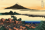 Katsushika Hokusai Dawn at Isawa in the Kai Province