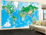 Executive World Map (Write on) Dry Erase Giant Laminated Map Poster
