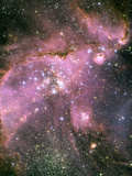 A Star-forming Region in the Small Magellanic Cloud