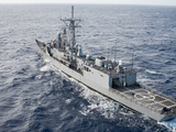 The Guided-missile Frigate USS Reuben James