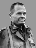 Vector Portrait of Lieutenant General Lewis Burwell Chesty Puller