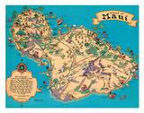 Hawaiian Island Of Maui - Hawaii Tourist Bureau