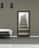 Turning Staircase Door Wallpaper Mural