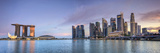 Singapore  Marina and City Skyline