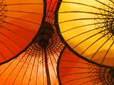 Handmade Oriental Umbrellas  Bagan  Myanmar (Burma)