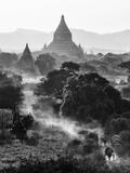 Bagan at Sunset  Mandalay  Burma (Myanmar)