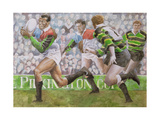 Rugby Match: Harlequins v Northampton  1992