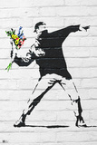 Banksy- Rage  Flower Thrower