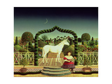 Girl with a Unicorn  1980