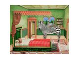 Zebra in a Bedroom  1996