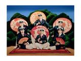 Sailors with Umbrellas  1995