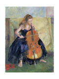 The Cello Player  1995