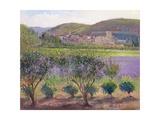 Lavender Seen Through Quince Trees  Monclus