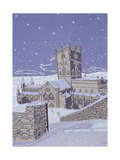 St David's Cathedral in the Snow  1996